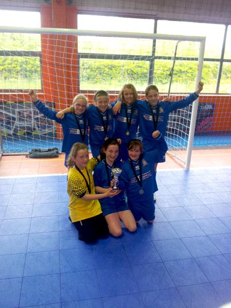 Victory for Lads Club Girls U 10 team