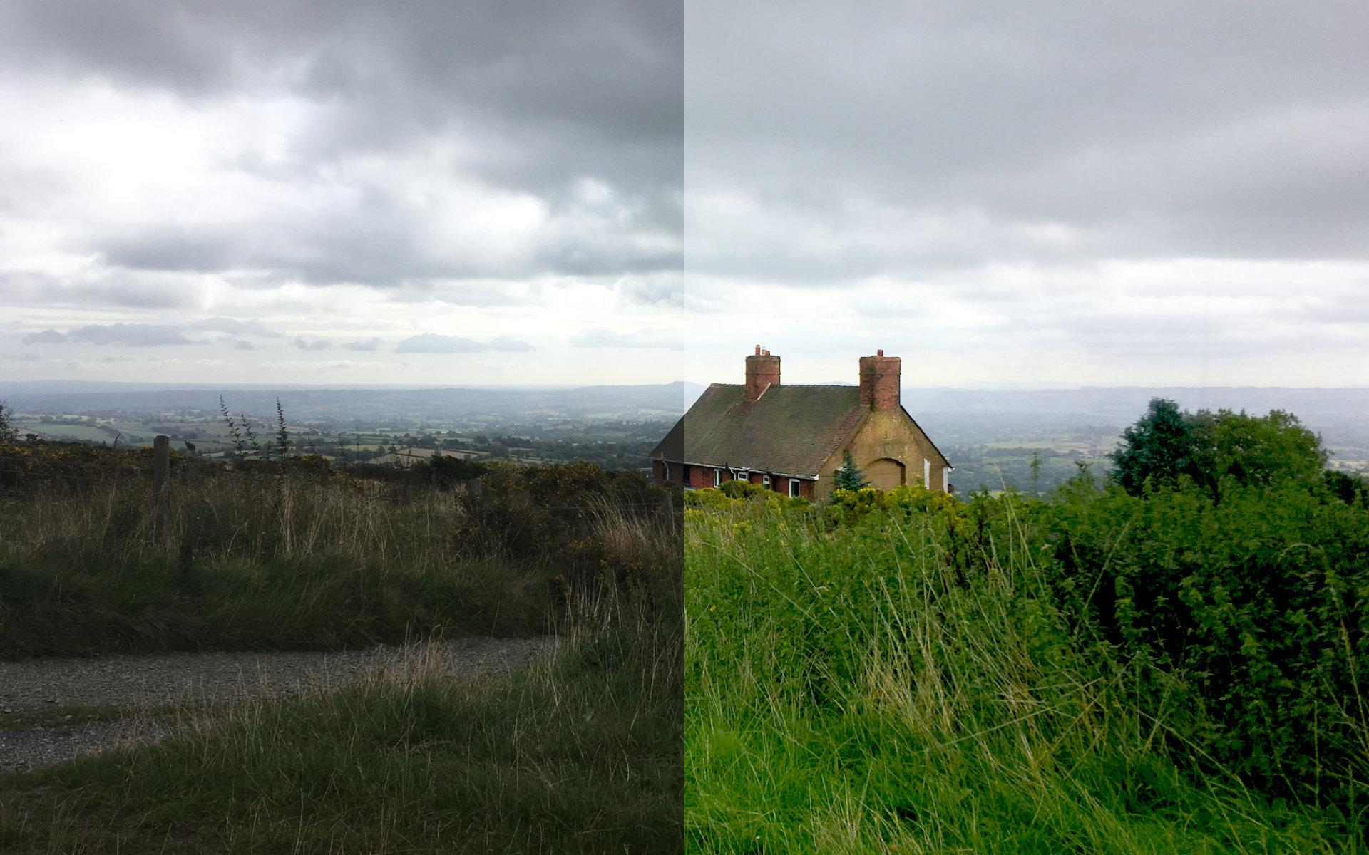 House on a Hill – Before & After