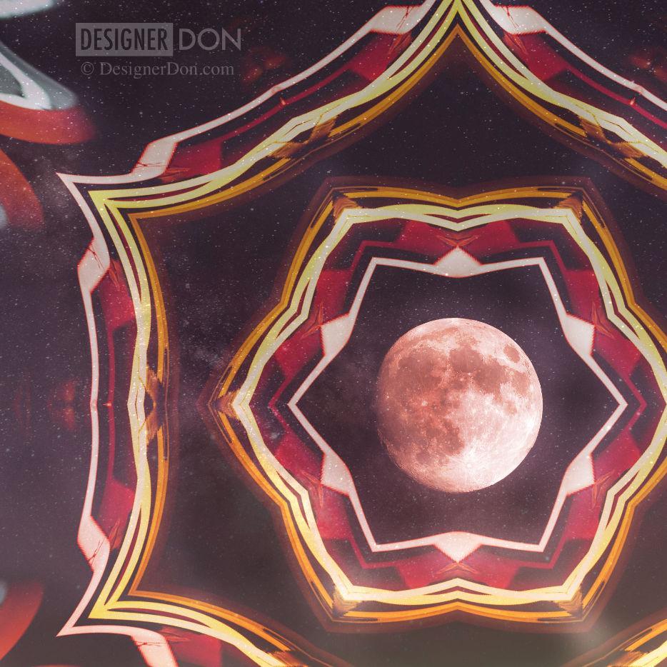 Daily Abstract – Moon Magic – 9th June