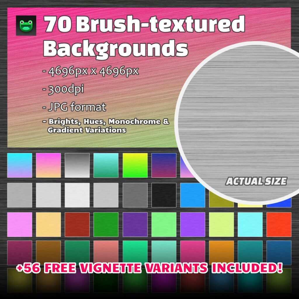 70 Brush-textured hi-res modern backgrounds